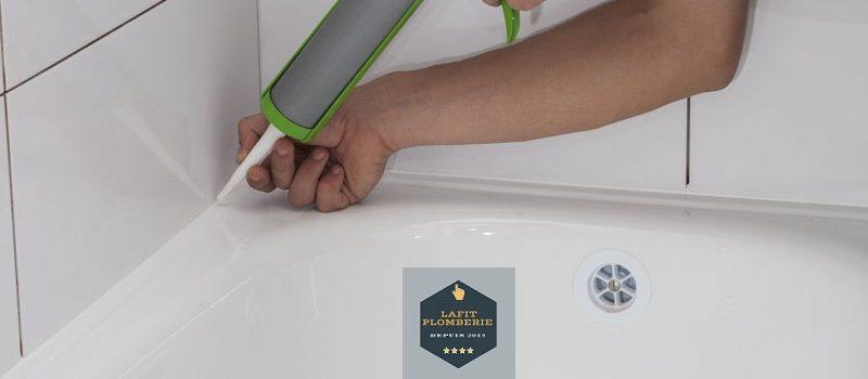 Remplacer un joint de baignoire par Lafit-plomberie.fr